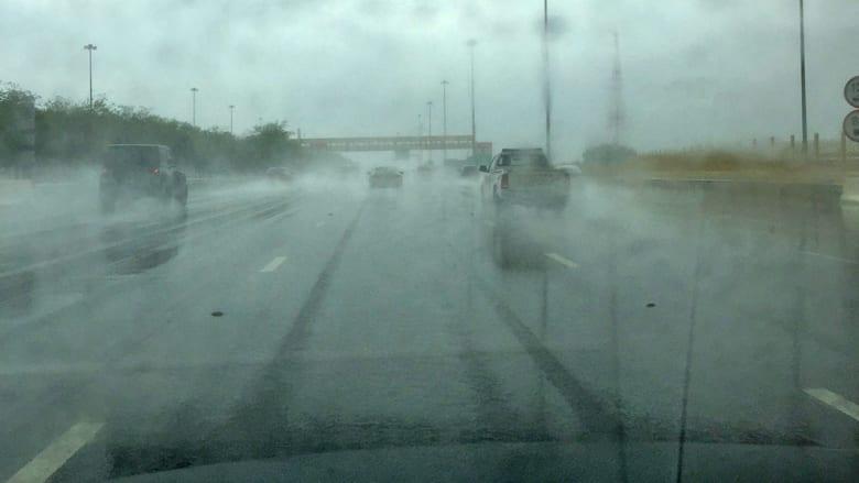 ثلوج وأمطار