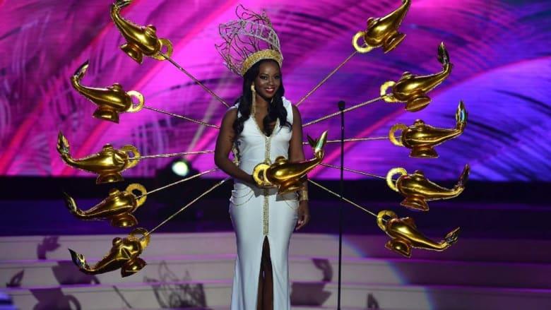 جينين جنو-لويس ... ملكة جمال جزر فيرجين البريطانية