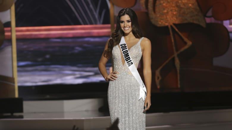 باولينا فيغا خلال مشاركتها في الحفل السنوي الـ 63 من مسابقة ملكة جمال الكون