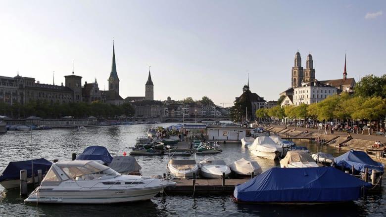 مدينة زيورخ السويسرية - رقم 7