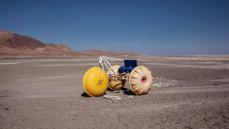 بالصور..عن بحيرة ايران الميتة ..التي ماتت فعلاً