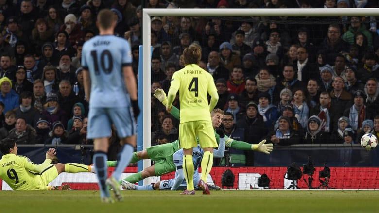 لويس سواريز يسجل الهدف الثاني له ولفريقه