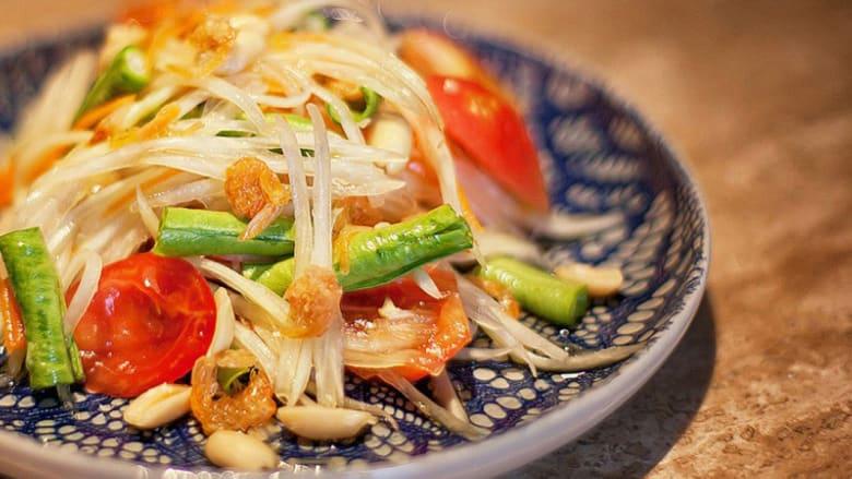 بالصور..أغرب المكونات المستخدمة في الأطباق التايلندية