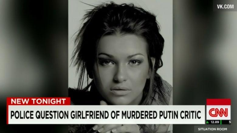 بالصور.. الأوكرانية آنيا صديقة المعارض الروسي نيمتسوف والتي كانت برفقته لحظة قتله