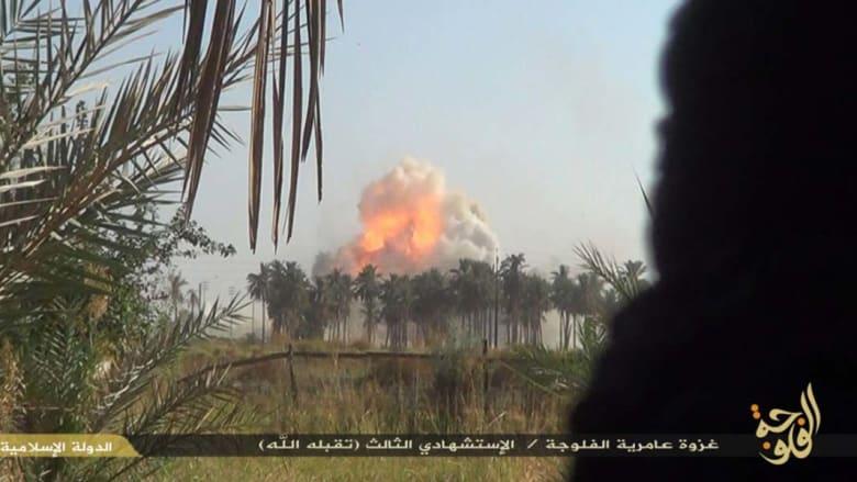 داعش يزعم قيام أمريكي من عناصره بتفجير انتحاري يودي بحياة 3 جنود عراقيين