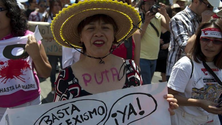 بالصور..احتجاجات تطالب بتجريم التحرش الجنسي