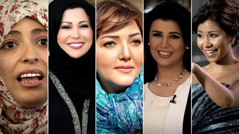 من هن النساء العربيات الأكثر إلهاماً للجمهور في الفن والسياسية وحقوق الإنسان والإعلام؟
