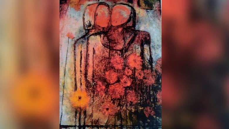 كيف تتجلى أوجاع المرأة في لوحات فنانة أردنية؟
