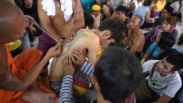 بالصور..أبرز الوشوم البوذية لجلب الحظ والحماية من الأذى