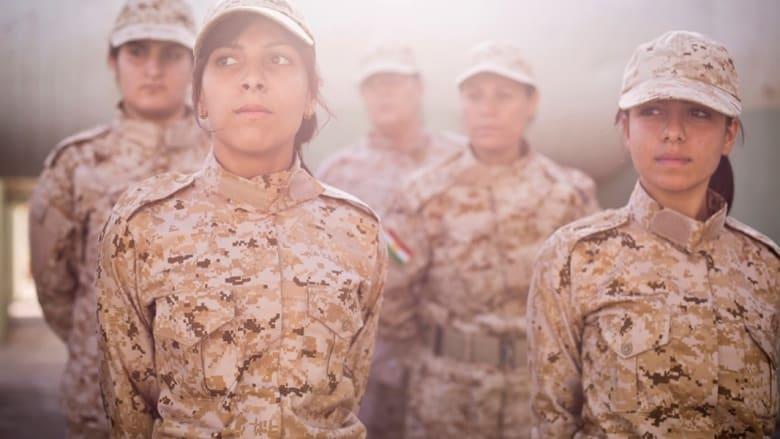 """لمحة داخل حياة المقاتلات الكرديات ضد """"داعش"""""""