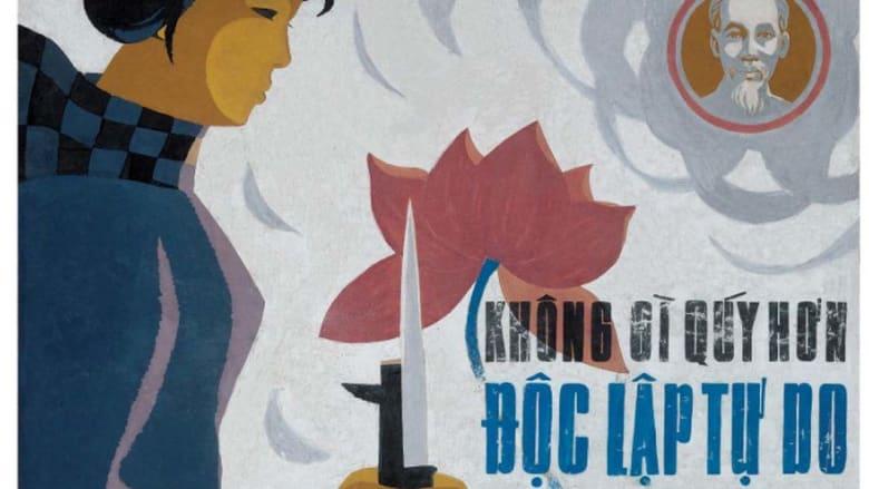 """رحلة ثورية..ملصقات تبث """"البروباغاندا"""" لضخ الروح في فيتنام"""