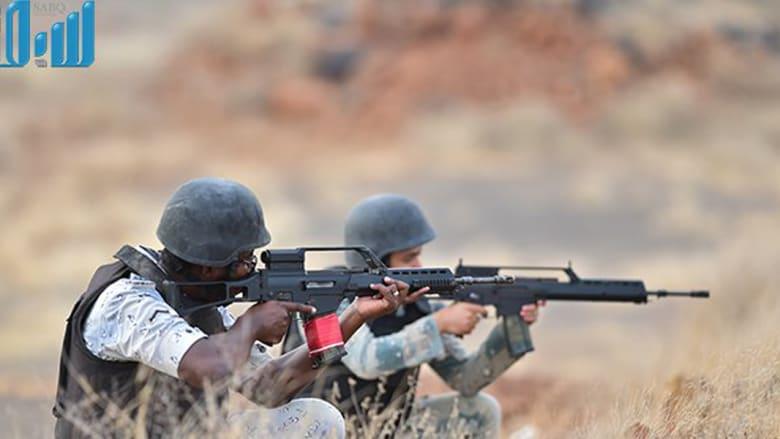 بالصور.. مرابطة القوات السعودية على الحدود مع اليمن