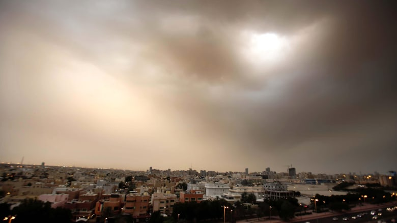 إدارة الأرصاد الجوية الكويتية حذرت من ان سرعة الرياح قد تصل إلى أكثر من 70 كلم في الساعة