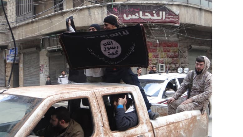 """حلب .. متظاهرون يطالبون """"بالخلافة الإسلامية"""""""