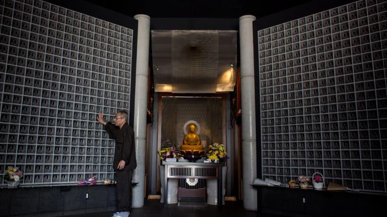داخل المعبد