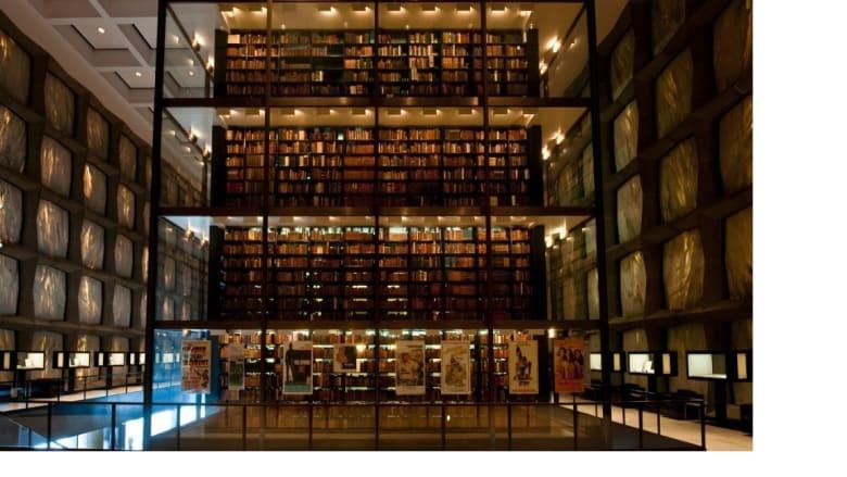 مكتبة باينك في نيوهافن بكونيتيكت