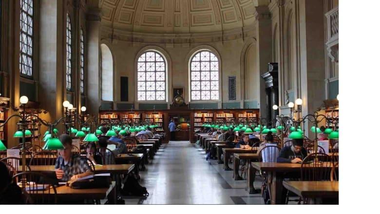مكتبة بوسطن العامة
