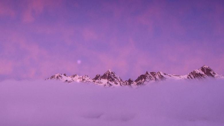 جبال الألب الفرنسية كما لم تروها من قبل