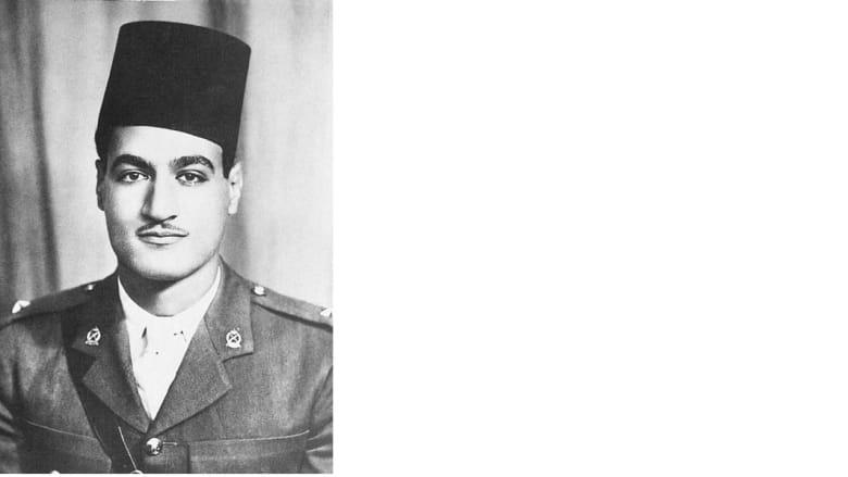 صورة التقطت عام 1938 للرئيس المصري جمال عبدالناصر في بداية حياته العسكرية