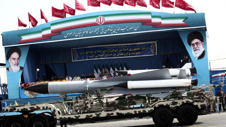 عرض لترسانة إيران الصاروخية