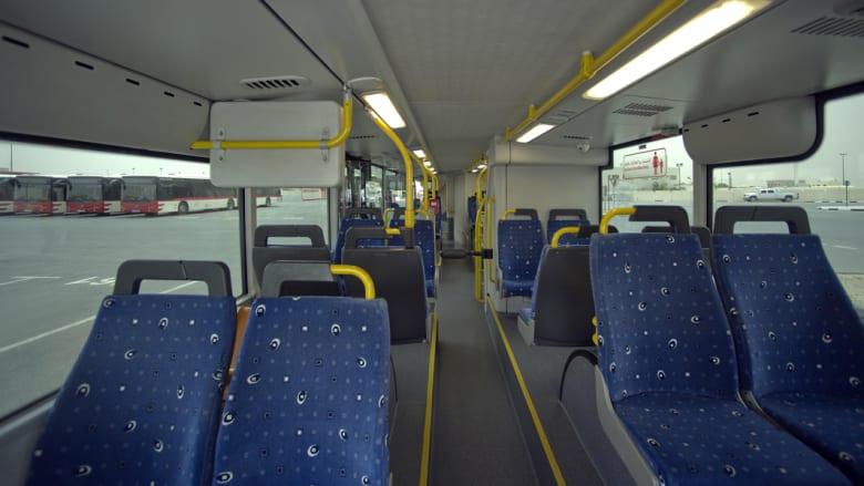 هناك نمو متزايد لعدد مستخدمي وسائل النقل الجماعي لاسيما مع وجود خدمة المترو