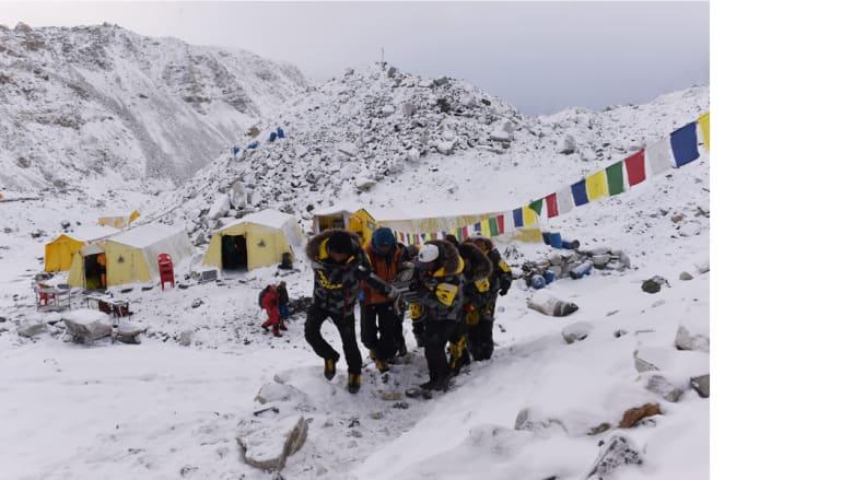 زلزال النيبال