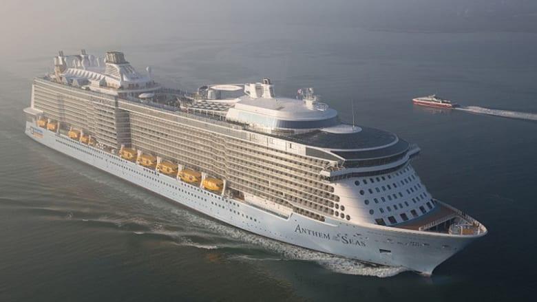 بالصور..هذه ثالث أكبر سفينة سياحية في العالم بكلفة مليار دولار..و6 ملايين ساعة عمل
