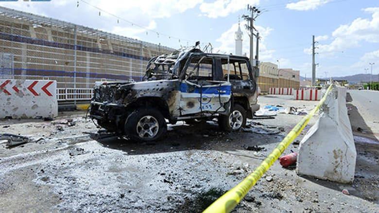 بالصور.. الأضرار التي خلفتها قذائف من اليمن على نجران الأربعاء.. وتقارير تشير لمقتل رجل أمن و3 مدنيين