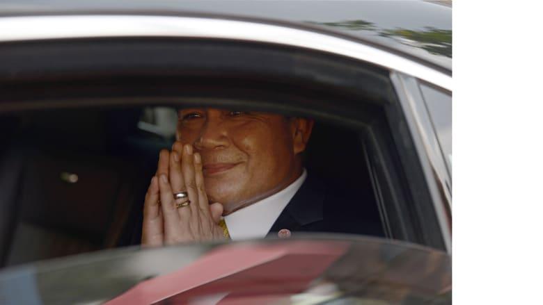 خروج الملك من المستشفى