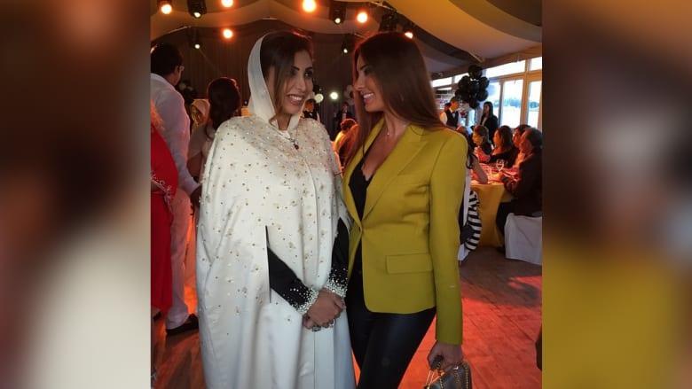 لاميتا مع الشيخة هند القاسمي