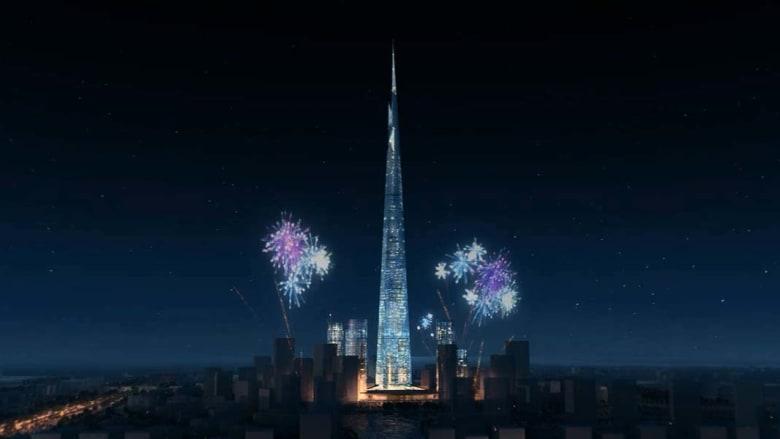 """بالصور..هل سيجرد """"برج المملكة"""" برج """"خليفة"""" من لقب أطول برج في العالم في العام 2018؟"""