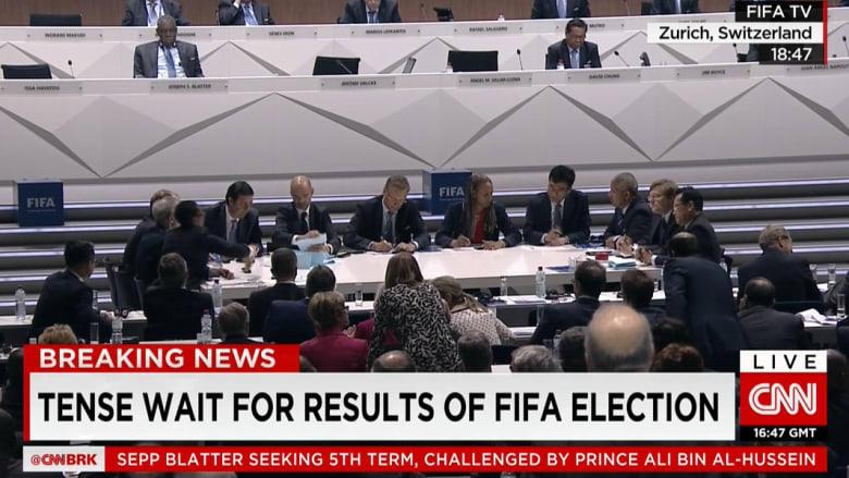 بالصور.. أجواء انتخابات رئاسة الاتحاد الدولي لكرة القدم في زيورخ