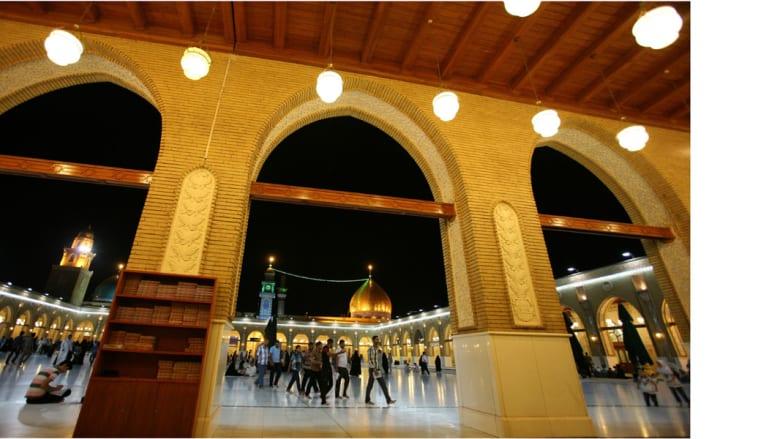 ضريح الإمام علي في النجف