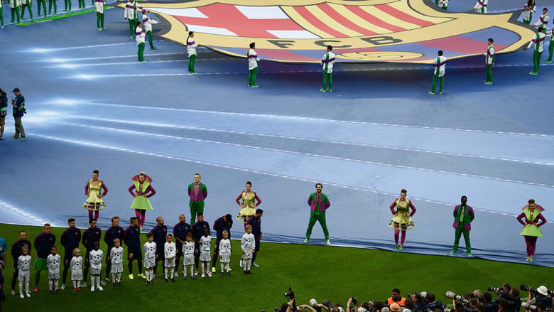 برشلونة ويوفنتوس