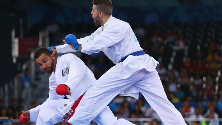 الفنون القتالية – الكاراتيه بدورة الألعاب الأوروبية بباكو