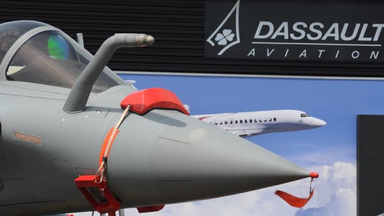 طائرة مشاركة بالمعرض