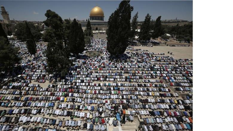 الصلاة في المسجد الأقصى