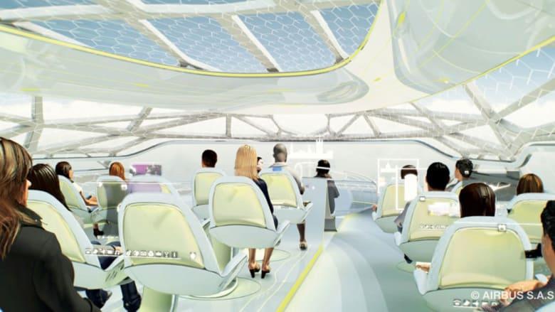 مقترح لطائرة آير باص شفافة