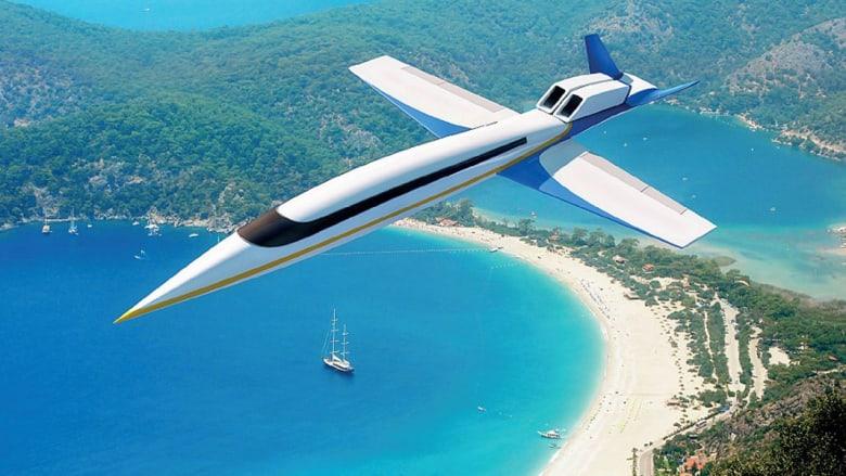 طائرة خارقة لسرعة الصوت