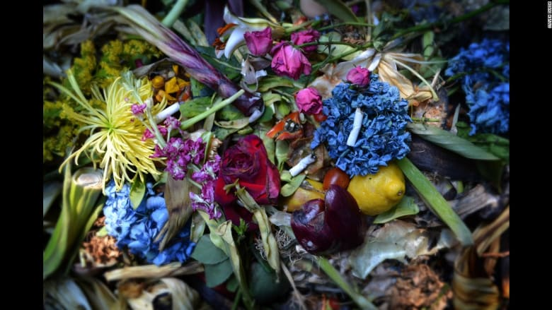 بالصور..العثور على الجمال بين أكوام النفايات