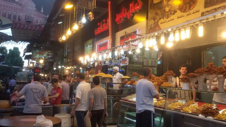 أجواء رمضان في سوق الميدان،جزماتية الدمشقي