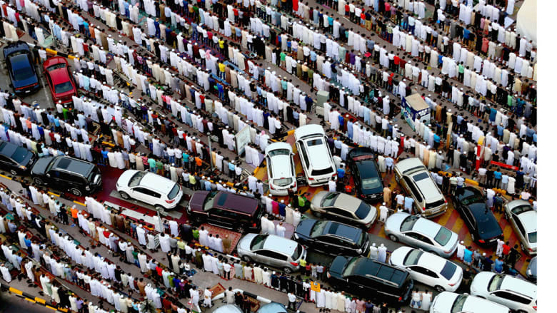 صلاة العيد - الشارقة