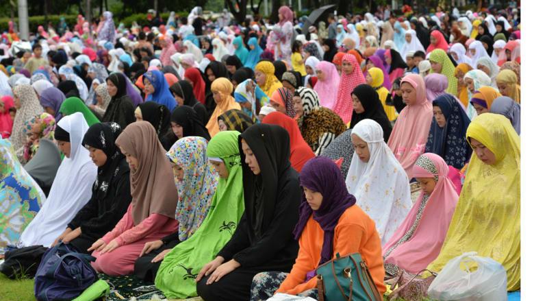 صلاة العيد - مانيلا، الفلبين