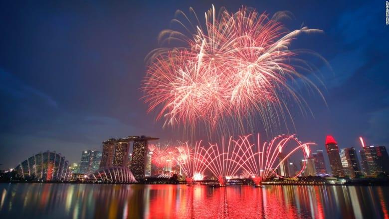بالصور.. سنغافورة تحتفل بذكرى استقلالها الخمسين