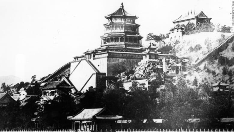 قصر سمر، بكين