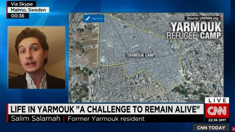 لاجئ سابق بمخيم اليرموك بسوريا يروي لـCNN أشكال المعاناة التي يمر بها الناس هناك لتأمين قوت يومهم