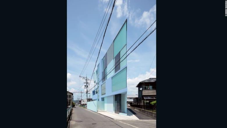 هل هذا مبنى مسطح؟ شاهد تصاميم هندسية رائعة من الإسمنت
