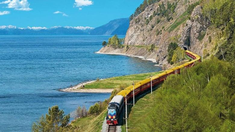 ركوب السكك الحديدية عبر سيبيريا