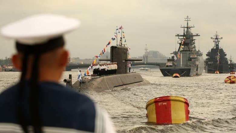 """روسيا تحذر """"الناتو"""" من ضم أوكرانيا وتبدأ تدريباً بحرياً في شرق المتوسط"""