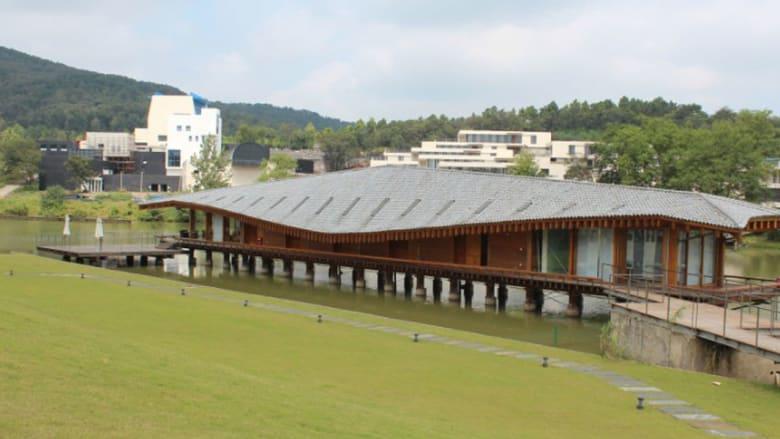 عجائب الهندسة المعمارية..في غابة نائية في الصين